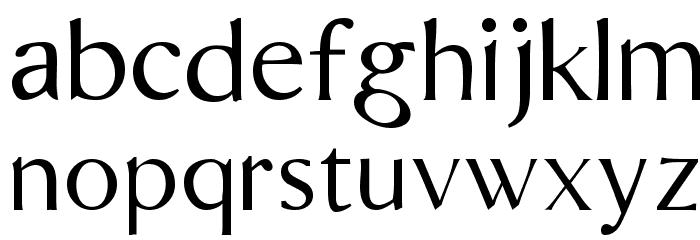 Bordini [Unregistered] Font LOWERCASE