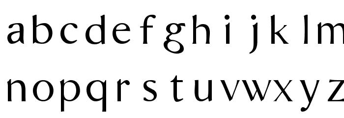 Bordofixed Tryout Font LOWERCASE