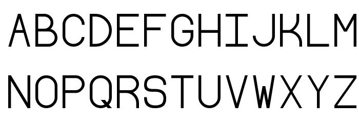 Borgen Font UPPERCASE