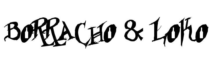 Borracho & Loko  Free Fonts Download