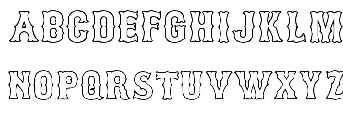 bosox outline font download