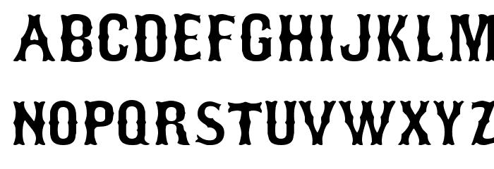 Bosox Schriftart Groß