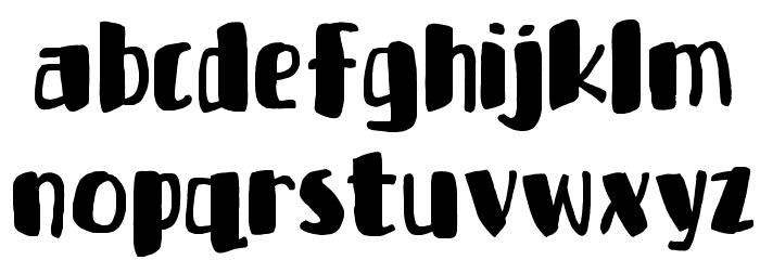 Bottle Party DEMO Regular Font LOWERCASE