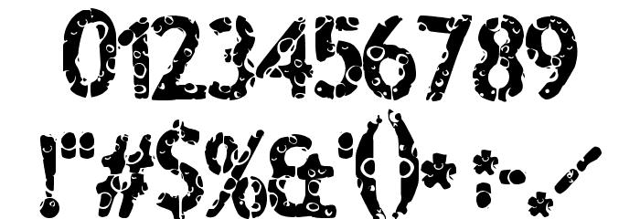 Boulevard Font OTHER CHARS
