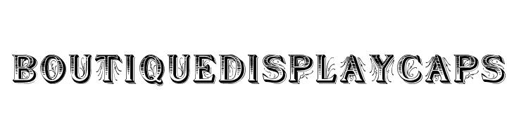 BoutiqueDisplayCaps  Free Fonts Download