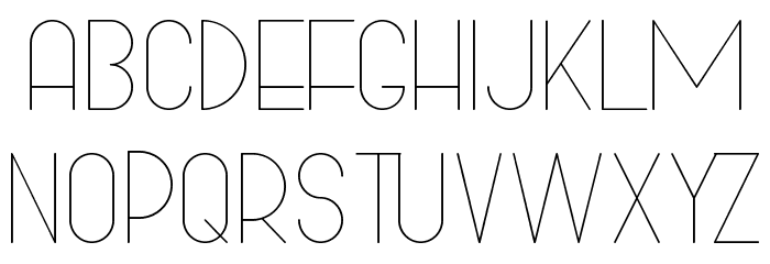Bowhouse Light Font UPPERCASE
