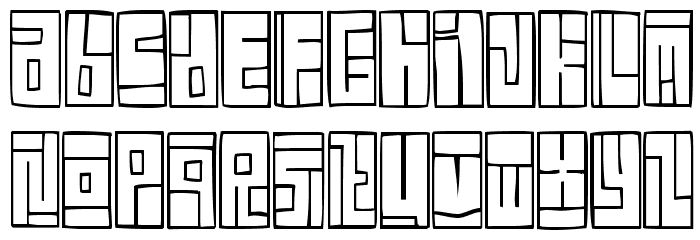 Box Font Font LOWERCASE