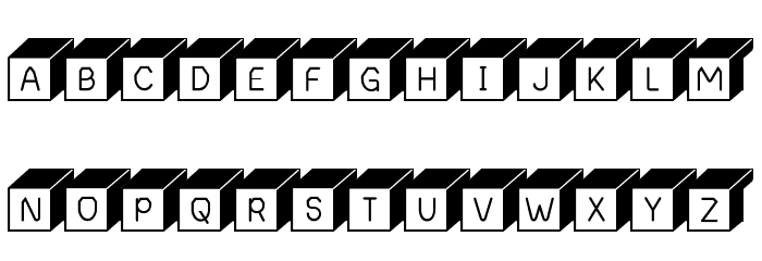 Boxing Brophius Font UPPERCASE