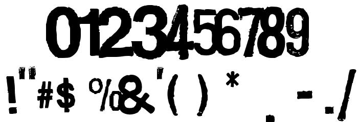 Boxpot Ametuer Font OTHER CHARS