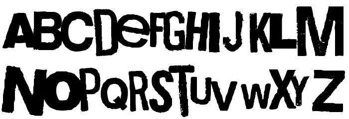 Boxpot Ametuer Font LOWERCASE