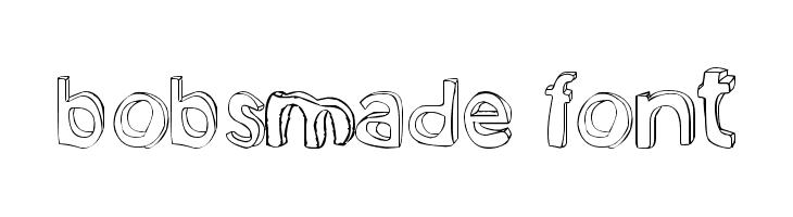 bobsmade font  les polices de caractères gratuit télécharger
