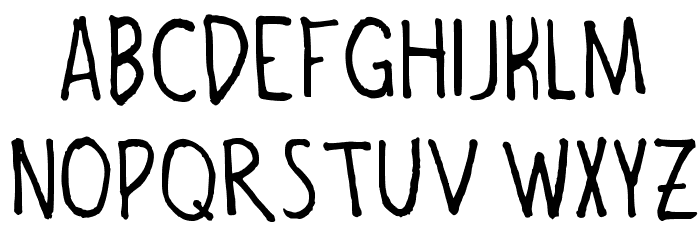 bombefont Regular Font UPPERCASE