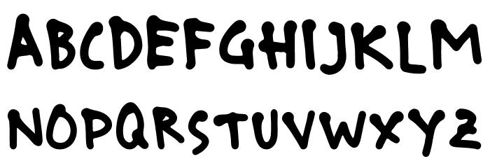 boncu sketches Font UPPERCASE