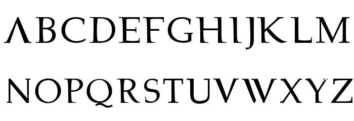 bowarrow2 Font UPPERCASE