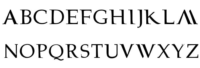 bowarrow2 Font LOWERCASE