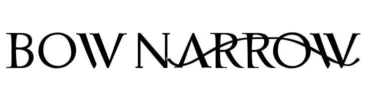 bownARrOW  Free Fonts Download