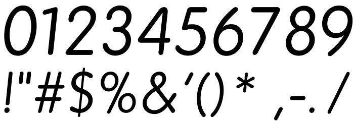 BPreplay-Italic फ़ॉन्ट अन्य घर का काम
