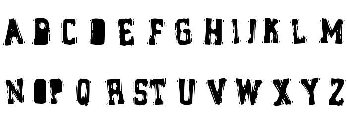 Brain Stew Font UPPERCASE