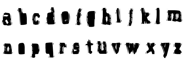 Brain Stew Font LOWERCASE