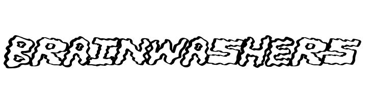 BrainWashers  Free Fonts Download
