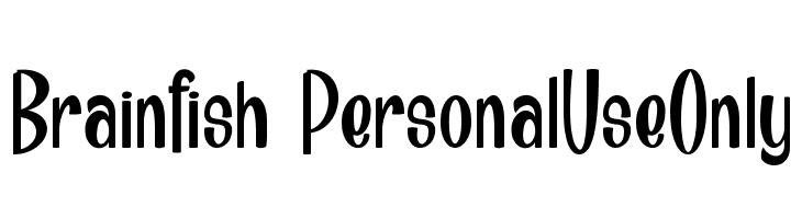 Brainfish_PersonalUseOnly  Скачать бесплатные шрифты