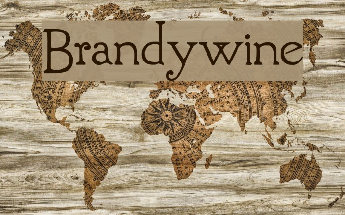 Brandywine Fonte examples