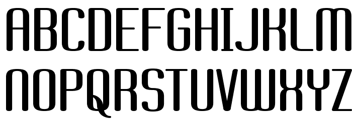 Brassiere Font UPPERCASE
