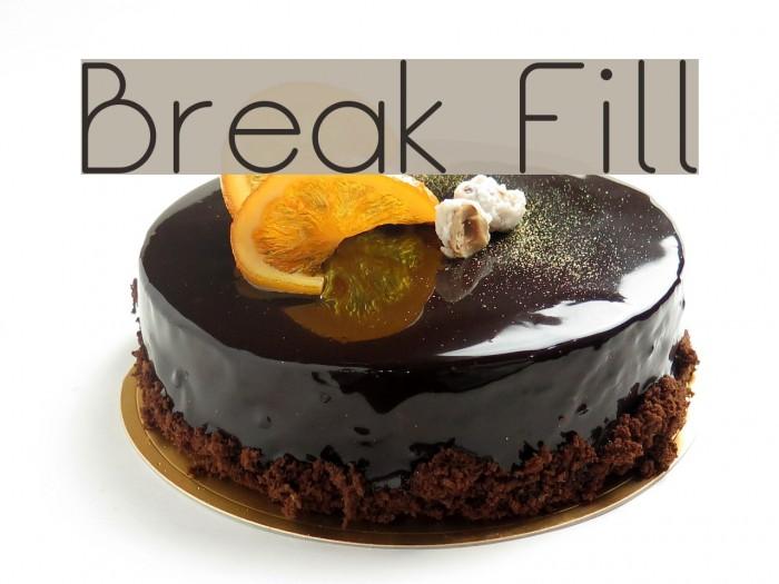 Break Fill لخطوط تنزيل examples