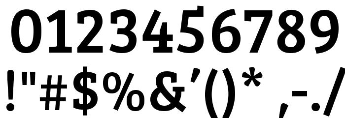 BreeSerif-Regular Font OTHER CHARS