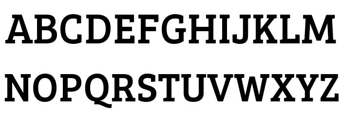 BreeSerif-Regular Font UPPERCASE
