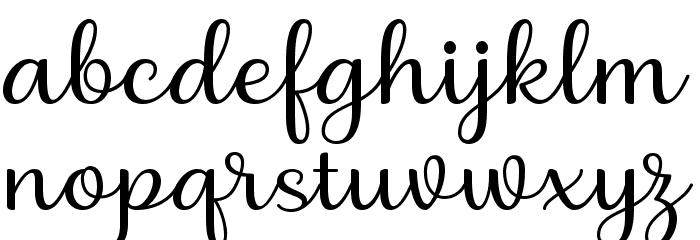 Briany Font Litere mici