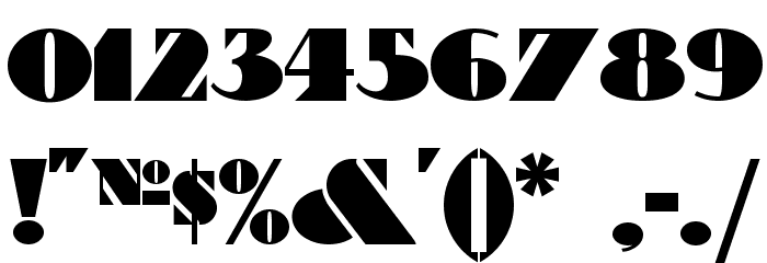 Bric-a-Braque NF Font OTHER CHARS