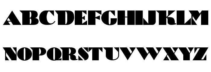 Bric-a-Braque NF Font UPPERCASE
