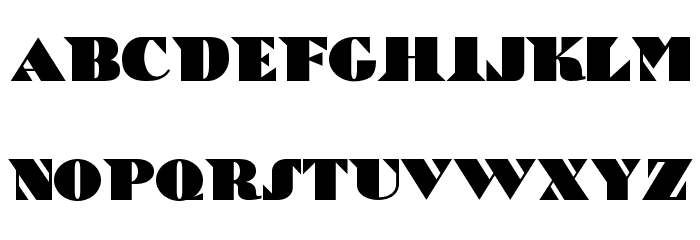 Bric-a-Braque NF Font LOWERCASE