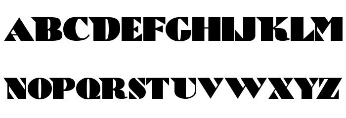 Bric-a-Braque Шрифта ВЕРХНИЙ