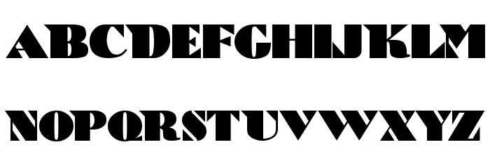 Bric-a-Braque Font UPPERCASE