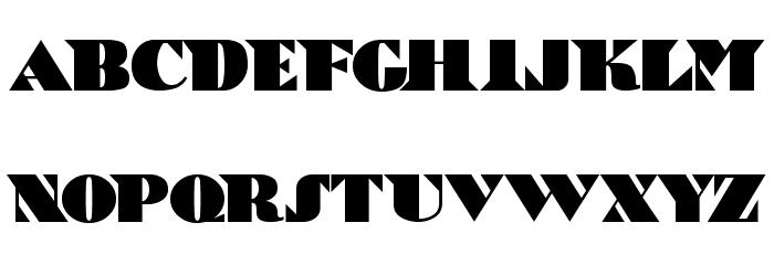 Bric-a-Braque Font LOWERCASE