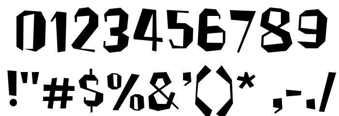 Brickhouse Font OTHER CHARS