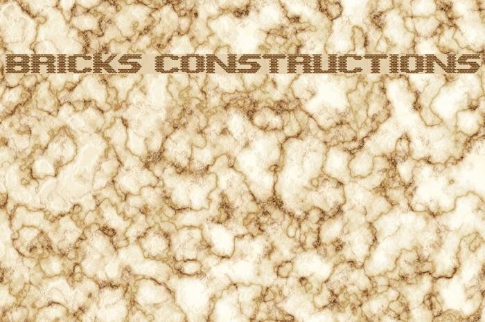 Bricks Constructions Caratteri examples