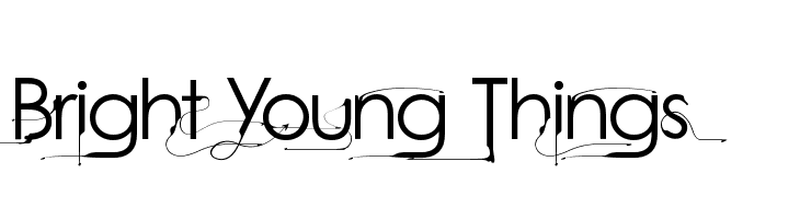 Bright Young Things  baixar fontes gratis