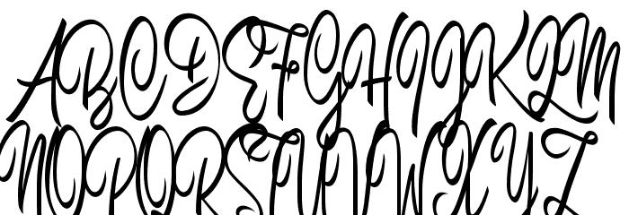 Brilhant フォント 大文字