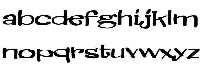 Brillianthre Шрифта строчной