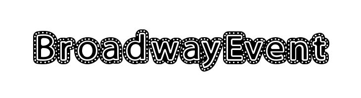 BroadwayEvent  baixar fontes gratis