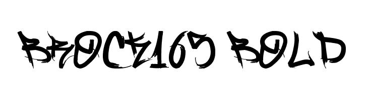Brock165 Bold  لخطوط تنزيل