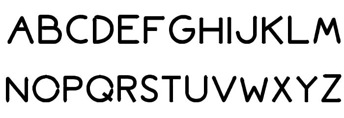 Bromoto Bold Font UPPERCASE