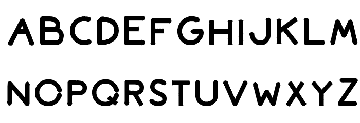 Bromoto Bold Font LOWERCASE