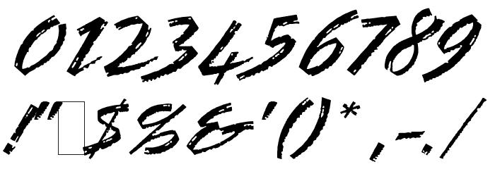 BronxLETPlain1 Шрифта ДРУГИЕ символов