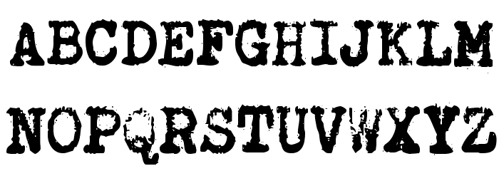 Brother Deluxe 1350 Font Fuentes MAYÚSCULAS