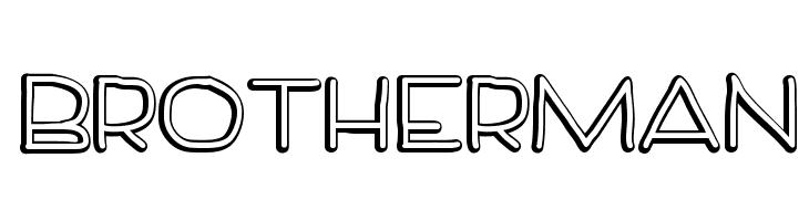 BrotherMan  नि: शुल्क फ़ॉन्ट्स डाउनलोड