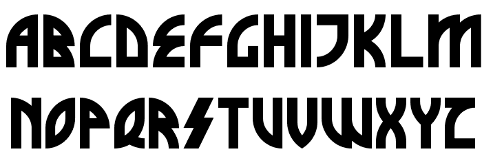 Brothers of Metal Font Litere mici